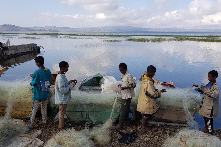 Pêcheurs du Lac Awassa