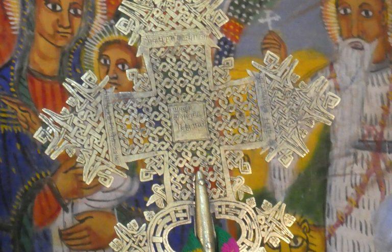 Croix de procession, Yeha