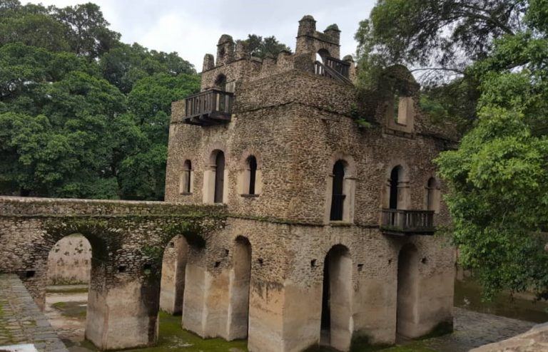Le bain du roi Fasiladas, Gondar