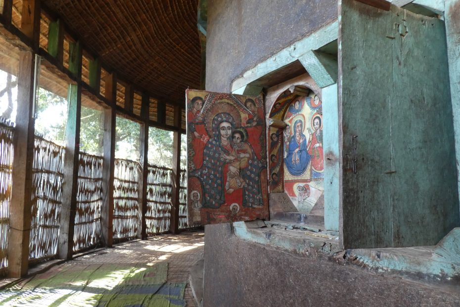 Eglise Ura Kidane Mihret, Lac Tana