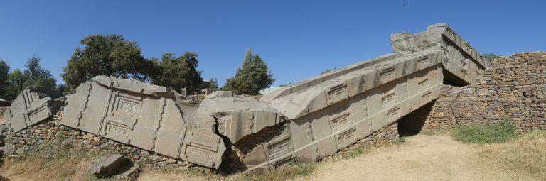 Stèle monolithique à Axoum