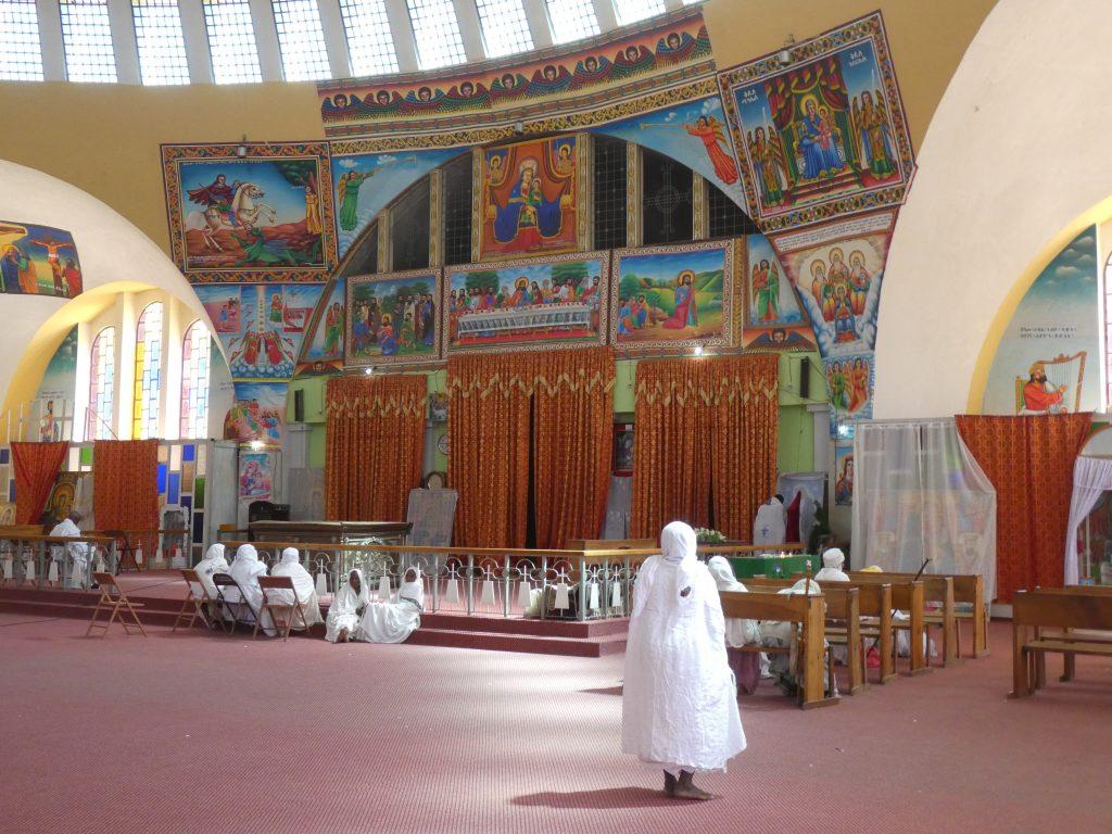 Eglise Sainte Marie de Sion, Axoum