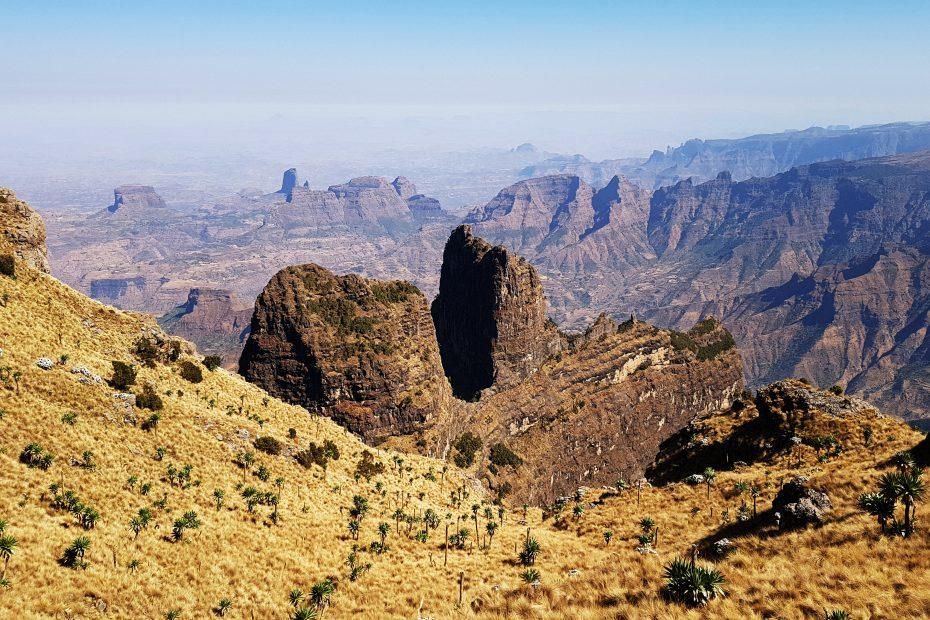 Point de vue Imet Gogo, Parc National du Simien