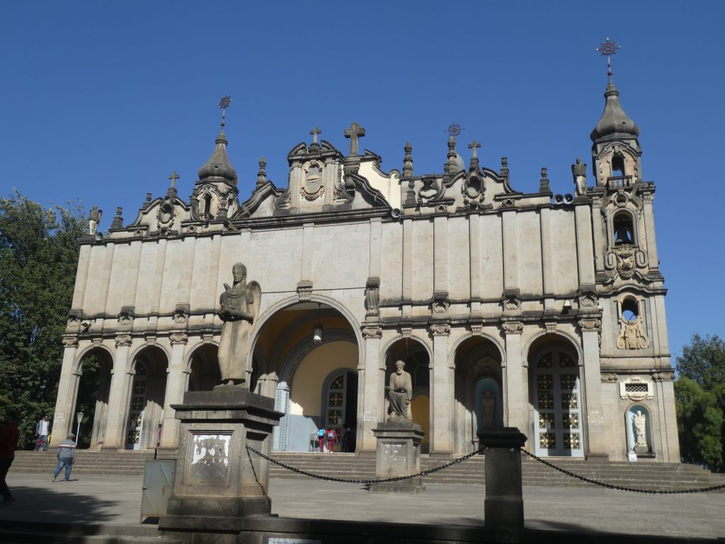 La cathédrale de la Trinité