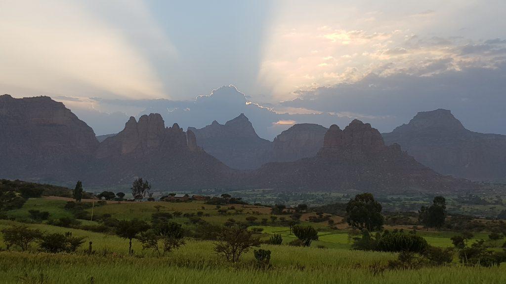 Les montagnes de Gheralta