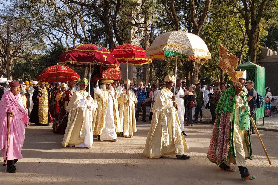 La procession de Timkat à Axoum