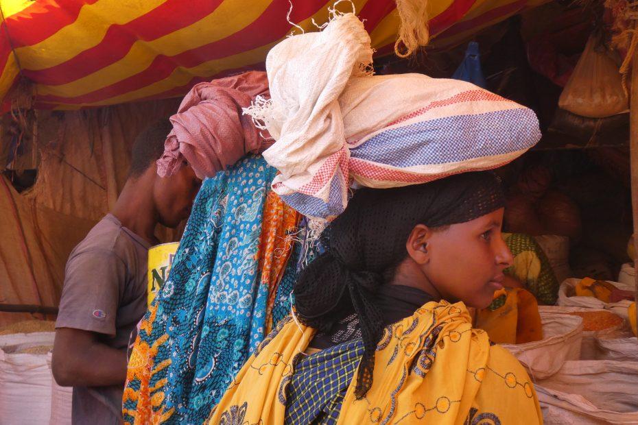 Sur le marché de Harar