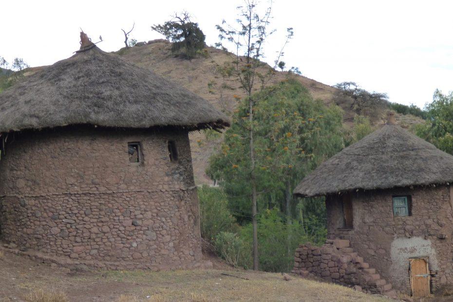 Maisons traditionnelles à Lalibela