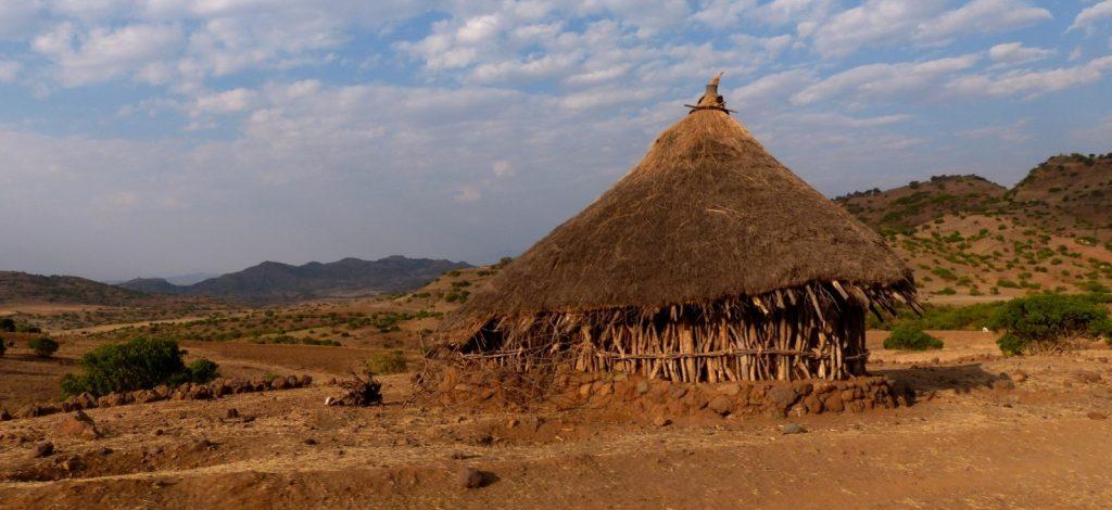 Maison traditionnelle Amhara