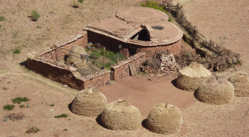 Maison traditionnelle dans le Gheralta