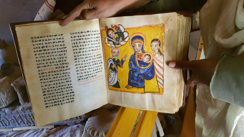 Bible en parchemin à Yeha