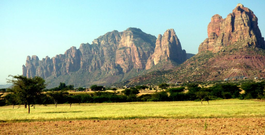 Le massif de Gheralta
