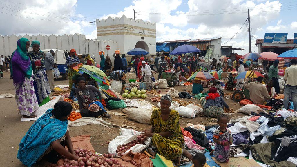 Marché à Harar