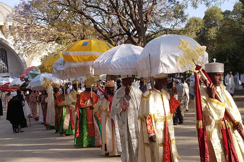 La procession à Axoum