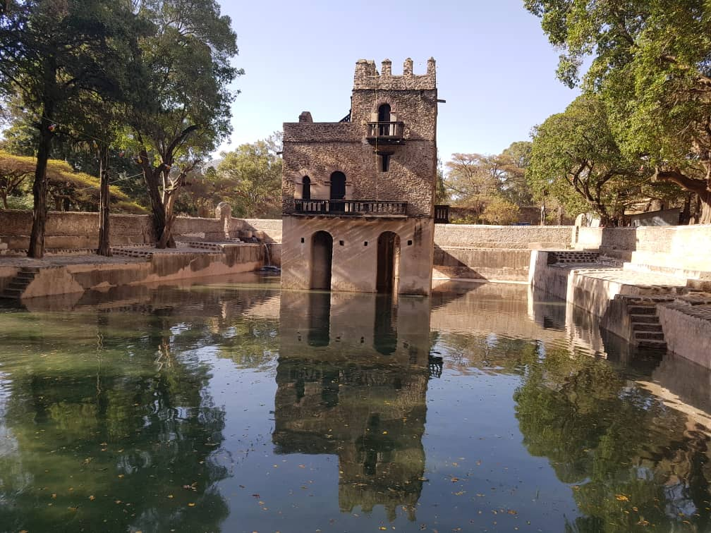 Les bains du roi Fasilades, Gondar