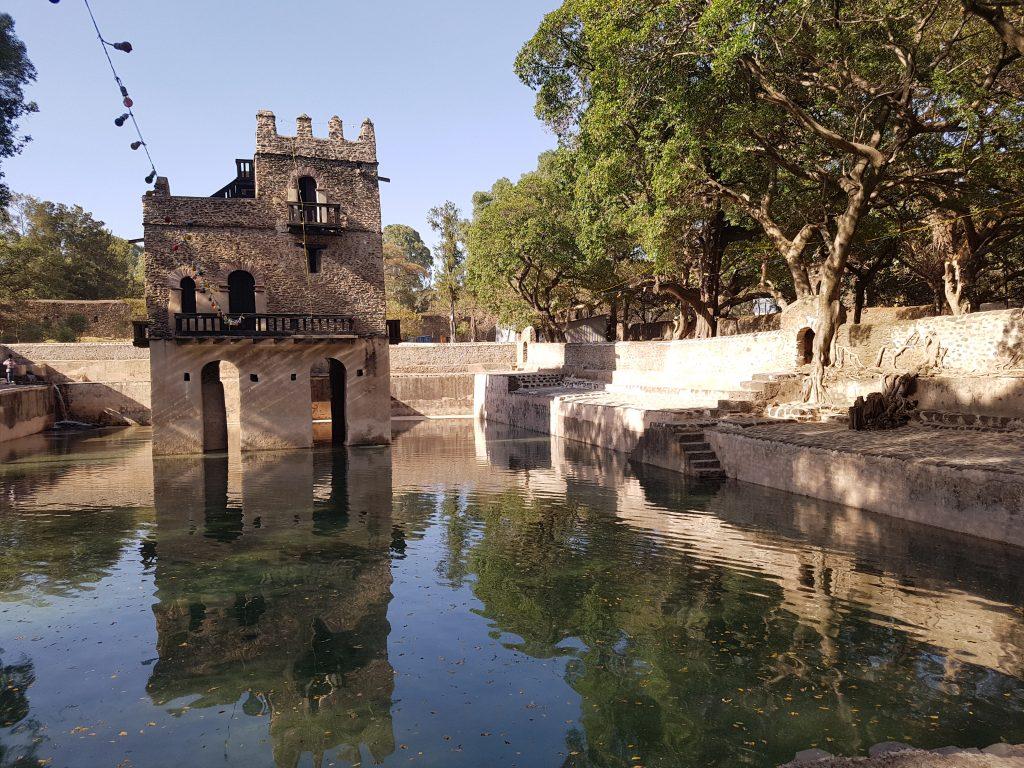 Les bains du roi Fasiladas, Gondar
